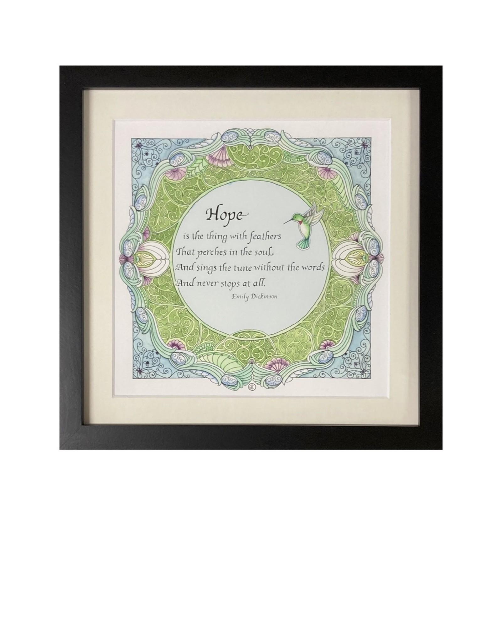 Kelly Casperson Hope framed print