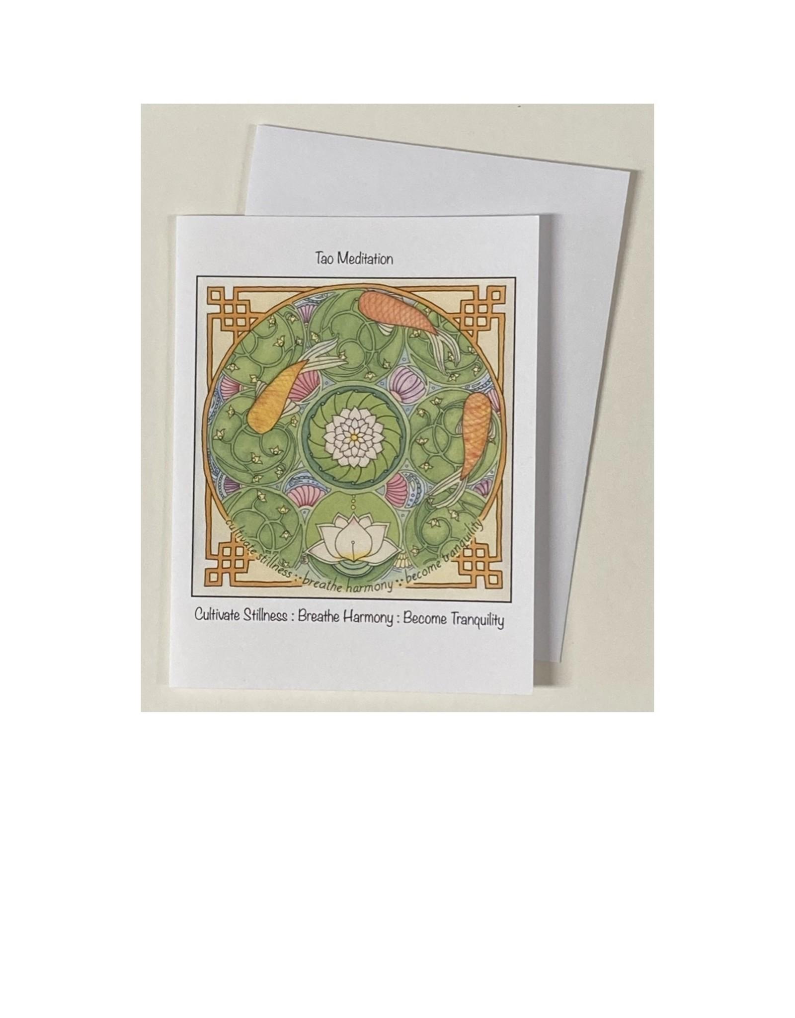 Kelly Casperson Tao Meditation notecard