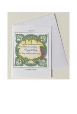 Kelly Casperson Hyacinths notecard