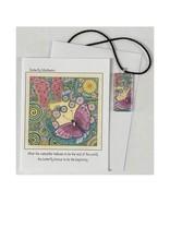 Kelly Casperson Butterfly Meditation pendant & card