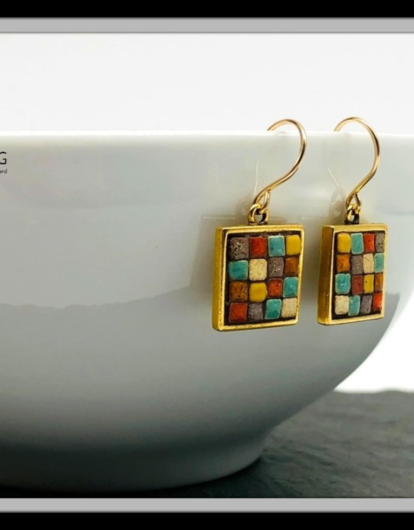 June Martin Brooke Mediterranean Earrings