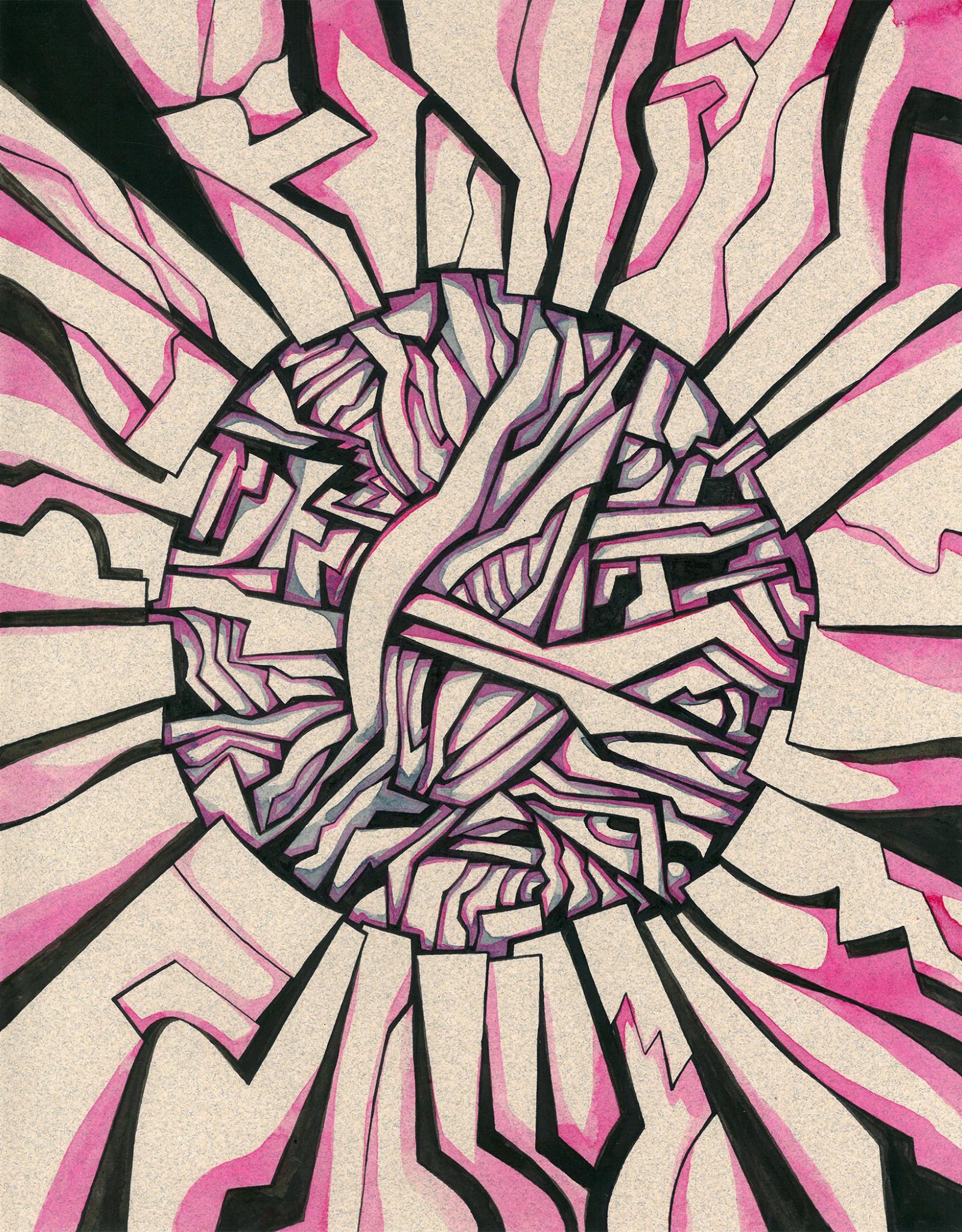 Gray Jones Radius 02 -Framed