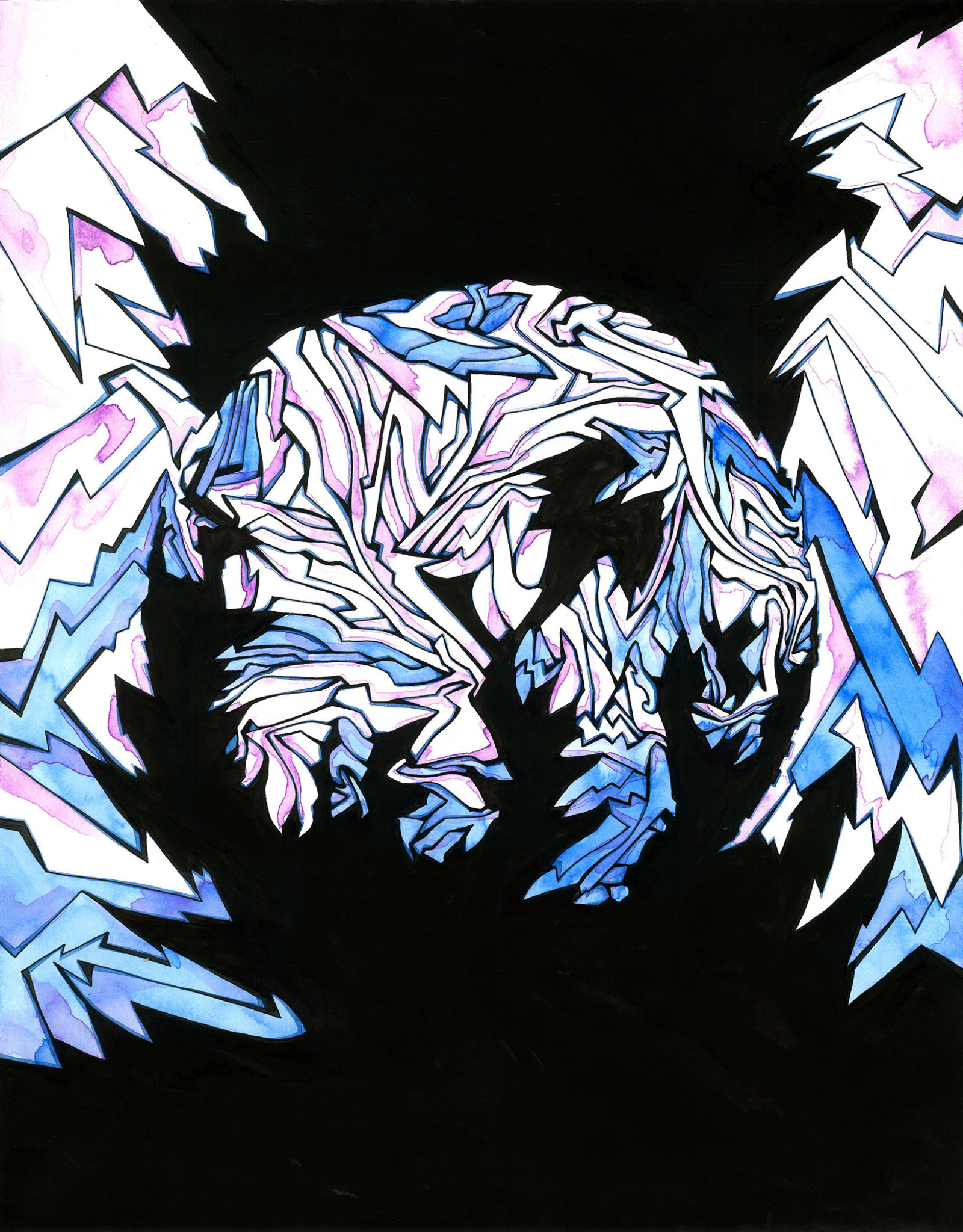 Gray Jones Radius 03 -Framed