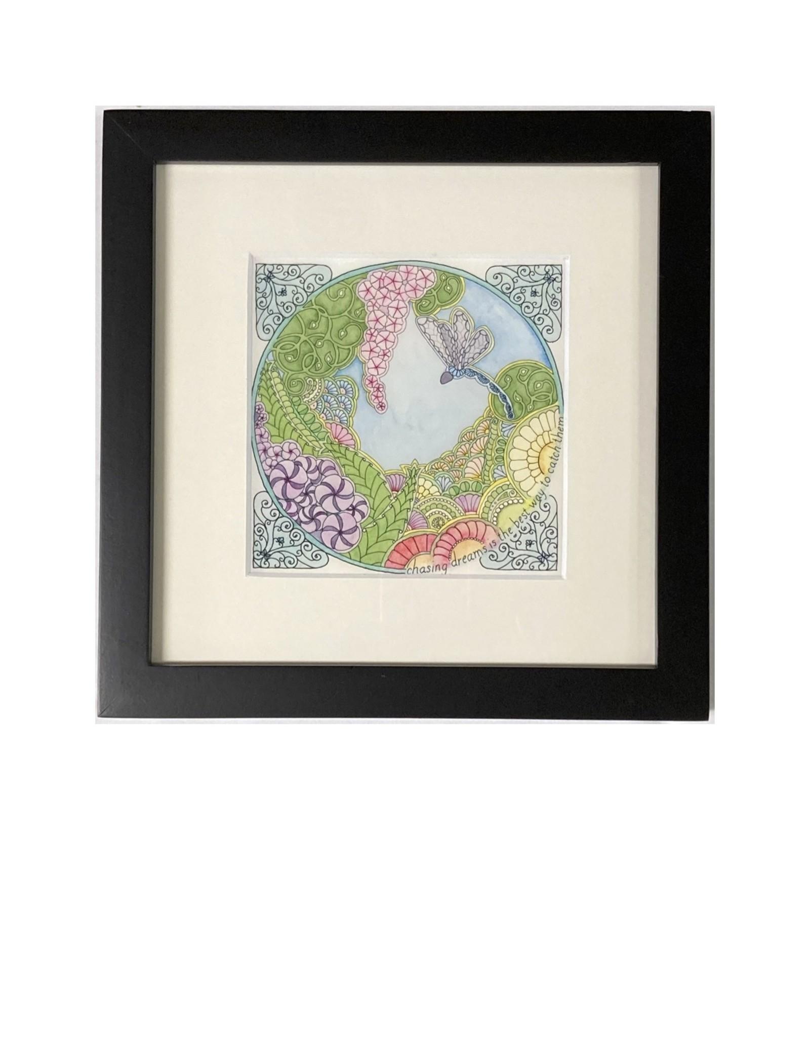 Kelly Casperson Catching Dreams framed print