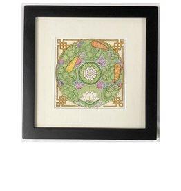 Kelly Casperson Tao Meditation framed print