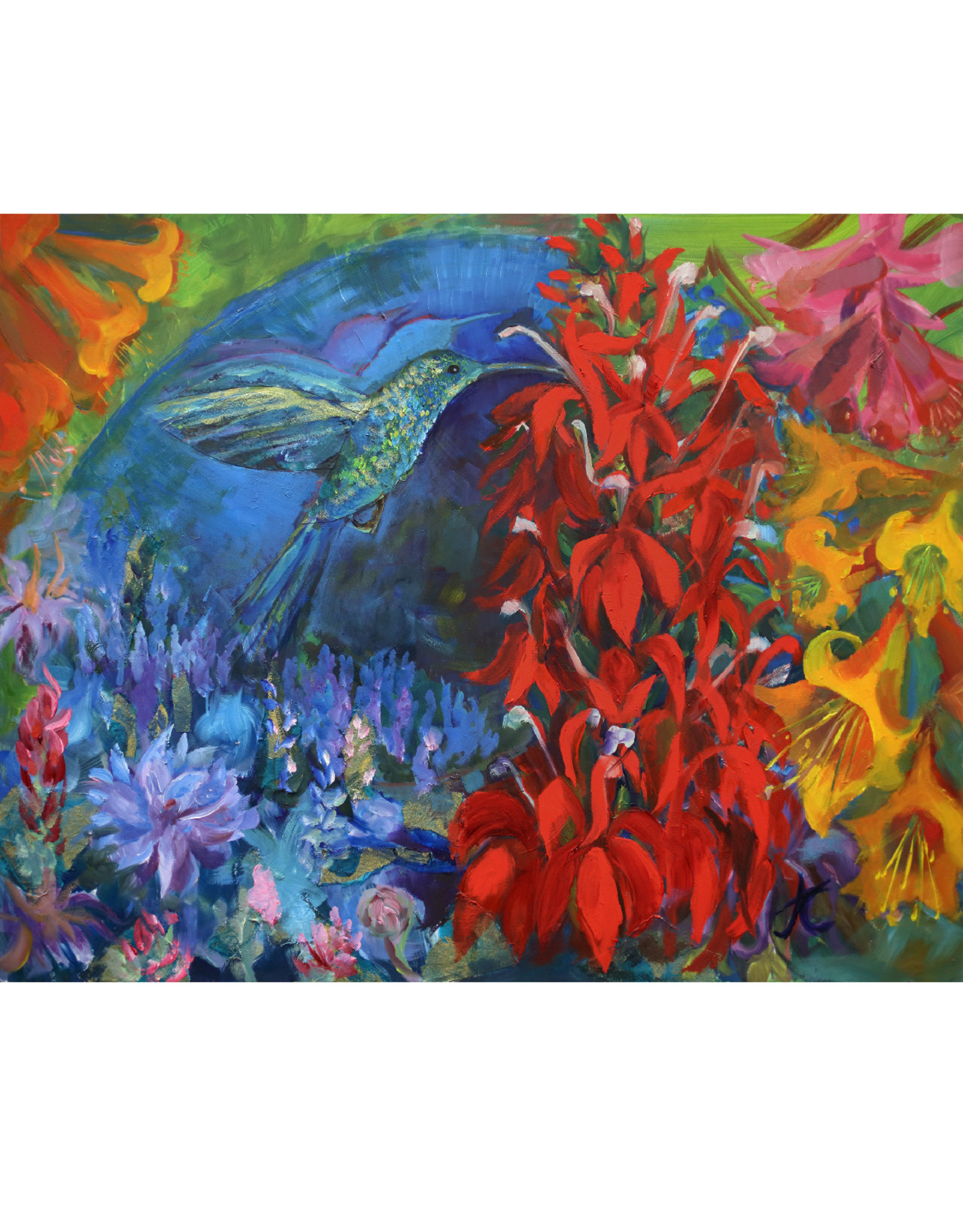 "Jennifer Cook-Chrysos Chrysos Designs Artworks, ""Symbiosis"", archival print, 16 x 20"