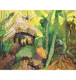 "Jennifer Cook-Chrysos Chrysos Designs Artworks, ""Safe Until Spring"", Archival Print, 11 x 14"