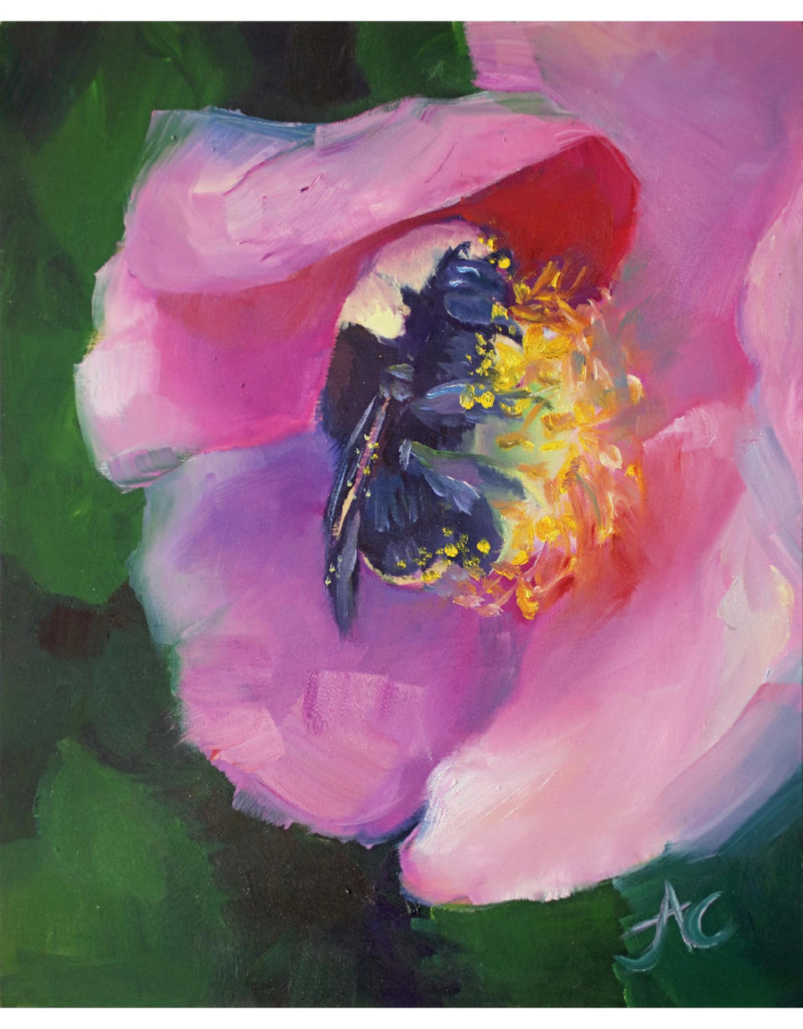 "Jennifer Cook-Chrysos Chrysos Designs Artworks, ""Summer Sanctuary"", Archival Print, 11 x 14"