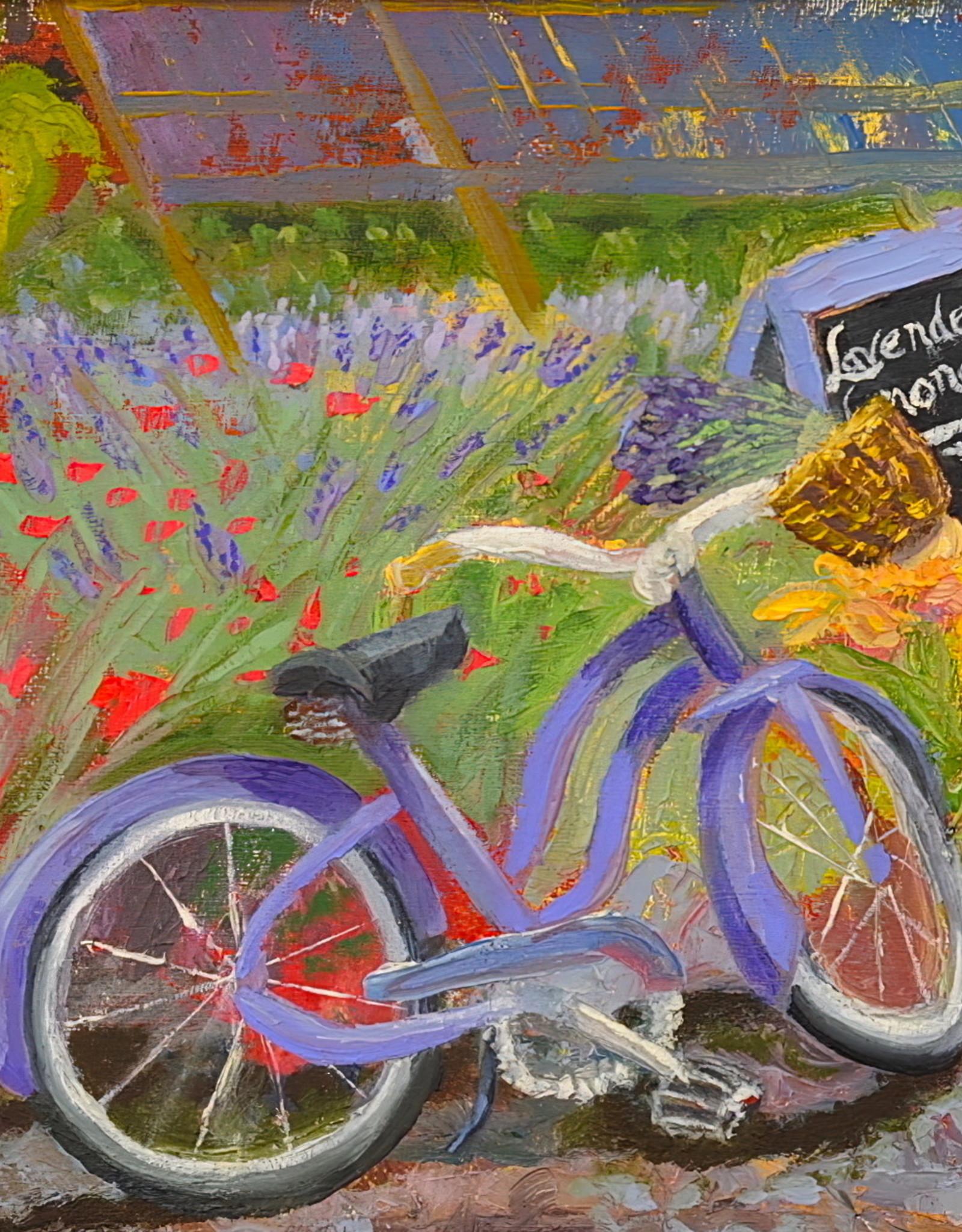 """Guest Artist, Nancy Klos """"Lavender Lemonade"""" original  N. Klos"""
