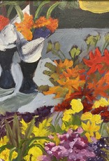 """Guest Artist, Nancy Klos """"Market Flowers"""" original  N. Klos"""