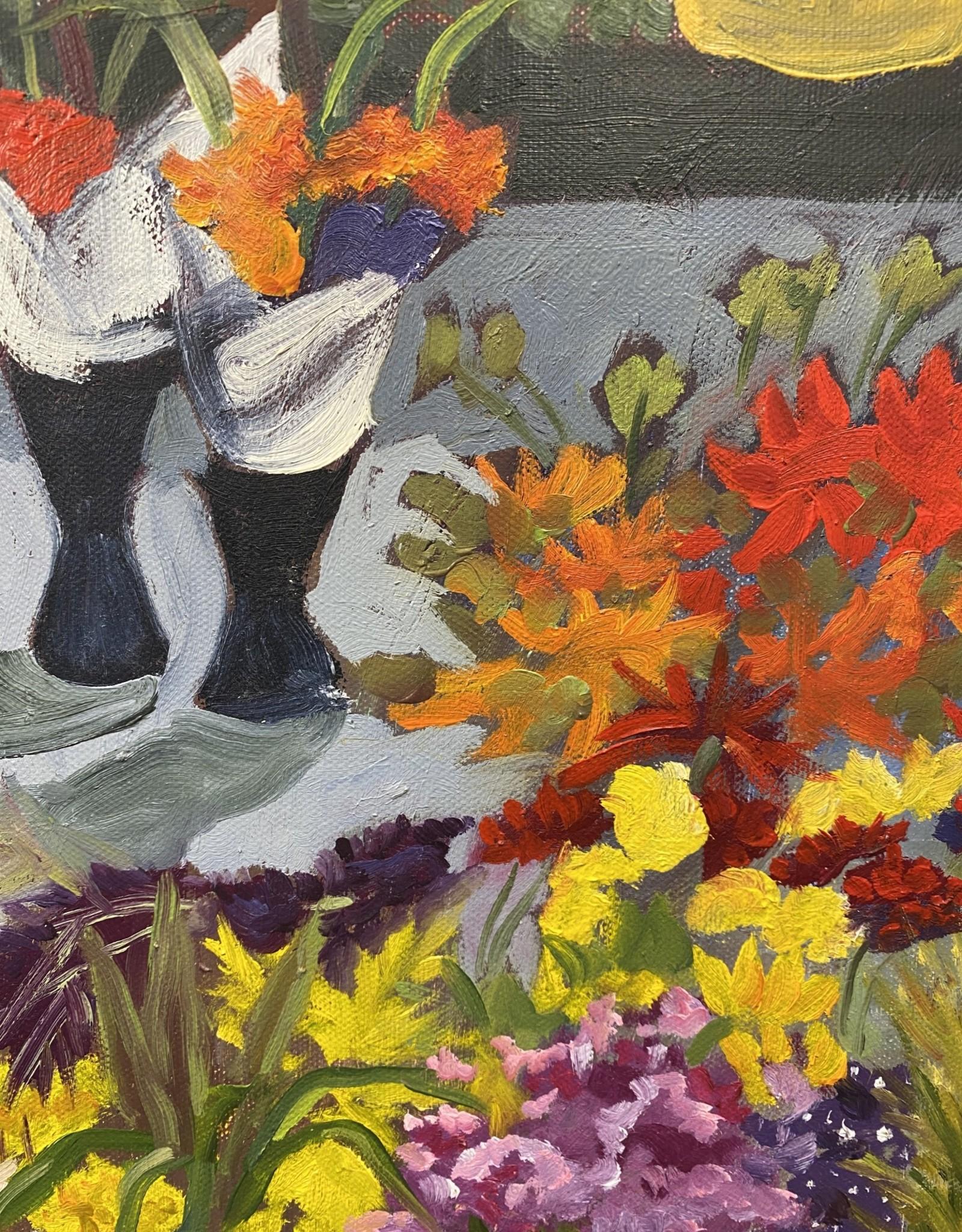 """""""Market Flowers"""" original  N. Klos"""