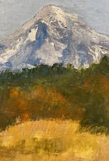 """Guest Artist, Nancy Klos """"Mt Hood In Fall"""" original  N. Klos"""