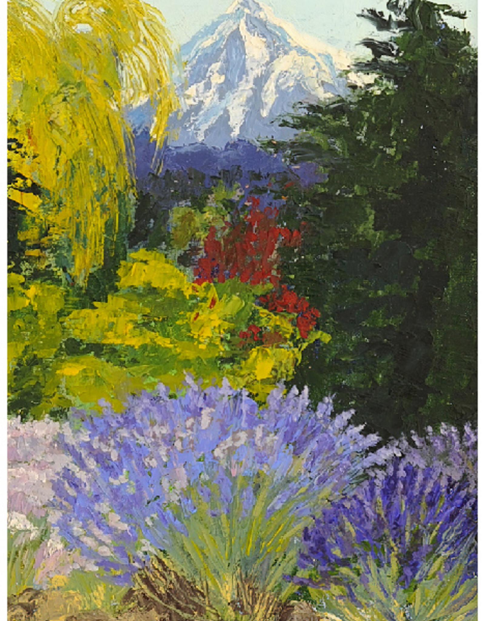 """""""Mt Hood Lavender"""" original  N. Klos"""