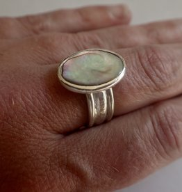 Lilly Parker Iron Lilly Abalone Ring