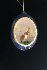 Ammi Brooks The Little Prince Real Egg Ornament