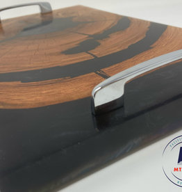 """Ron and Ellie Purvis MHC- """"Serenity"""" - Wood and Resin Serving Tray"""