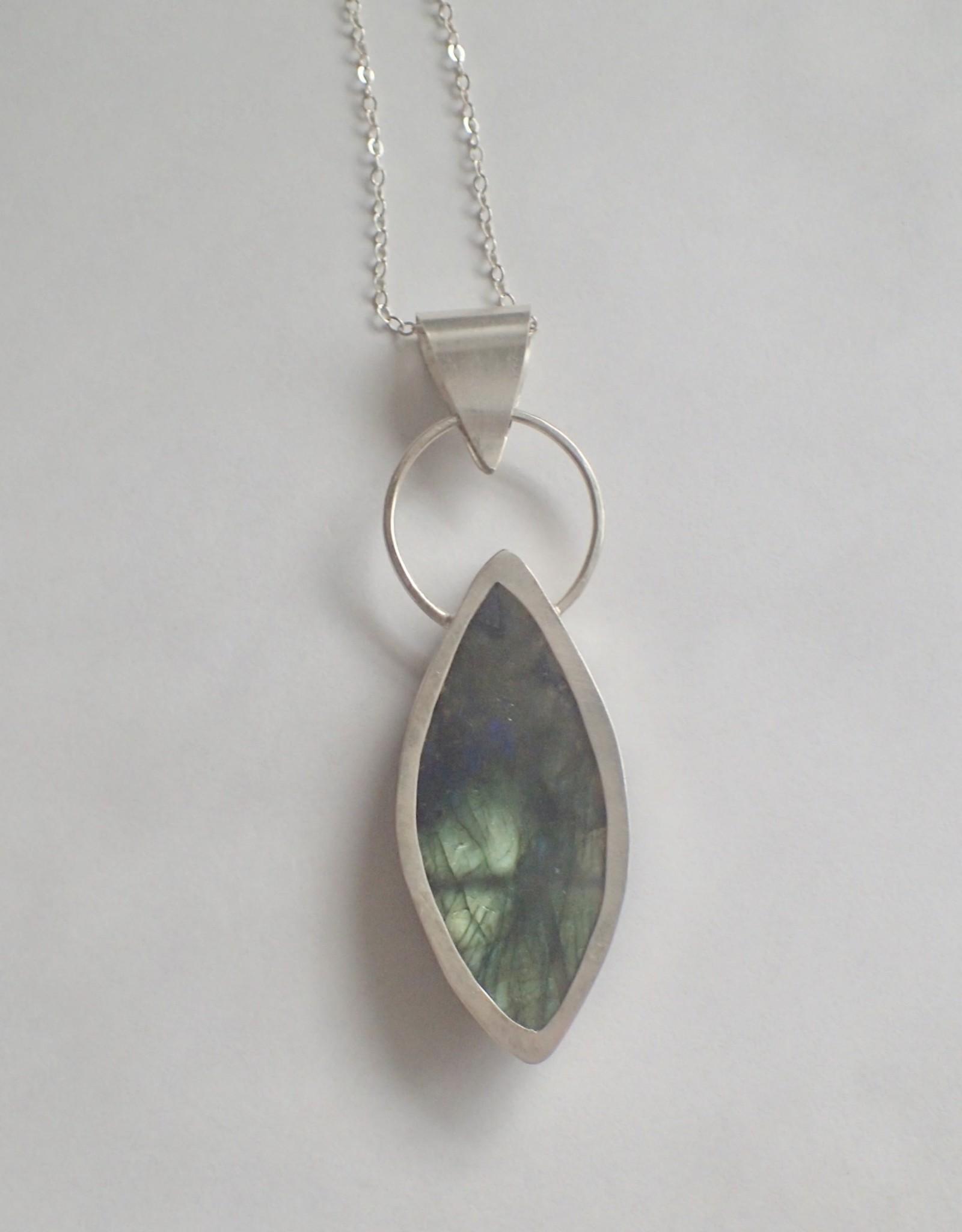 Lilly Parker Labradorite, Sterling silver Pendant