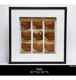 Guest Artist, Jeff Strickler 2021-26 Framed Art - Plum Jeff Strickler