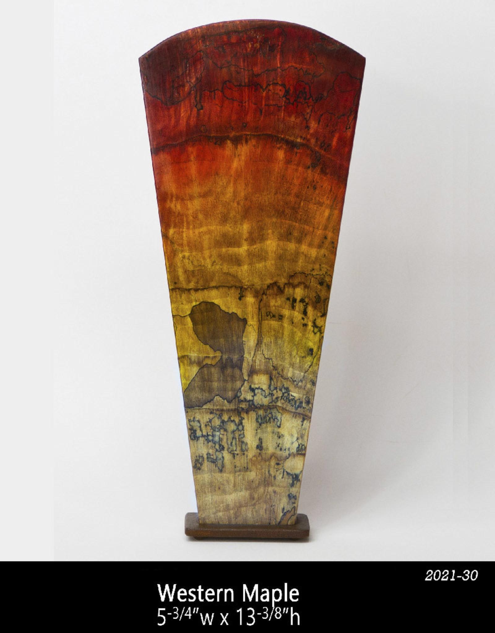 Guest Artist, Jeff Strickler 2021-30 Obelisk – Spalted Jeff Strickler