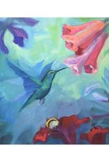 "Jennifer Cook-Chrysos Chrysos Designs Artworks ""Symbiosis II"", Archival Print, 11 x 11"