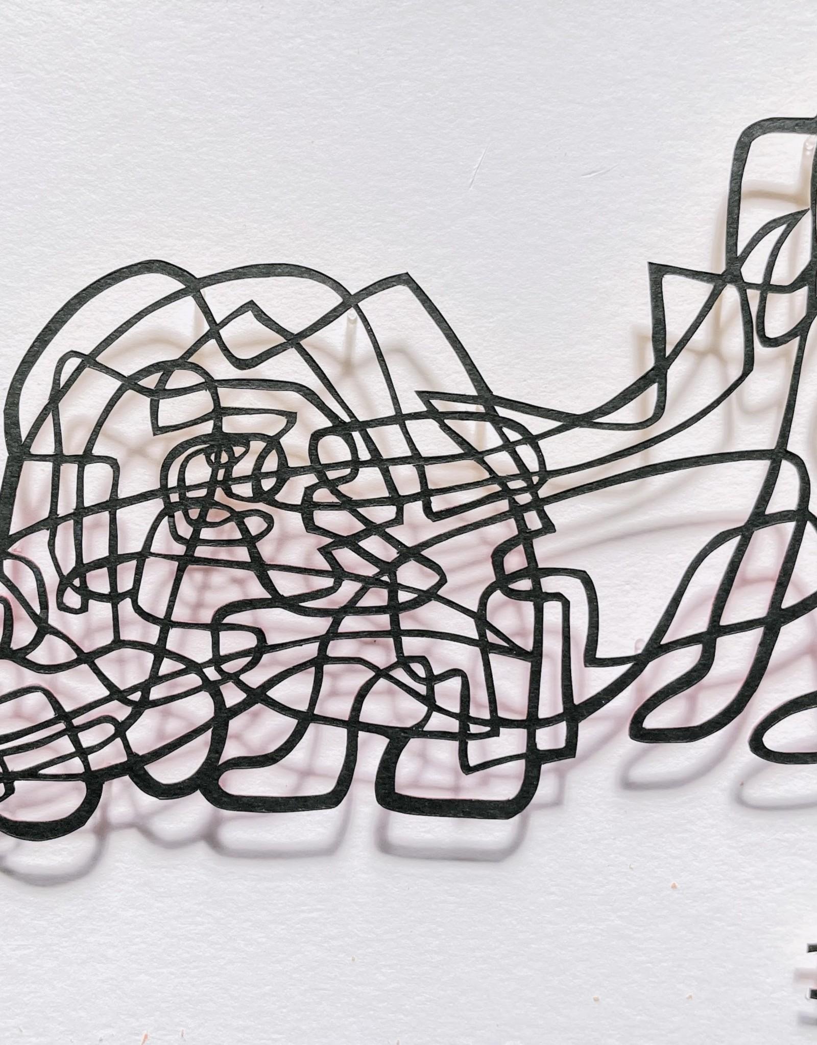 David Friedman Sniffer - Papercutting