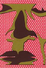 Gray Jones Face to Face -Cutout 9x12 #36