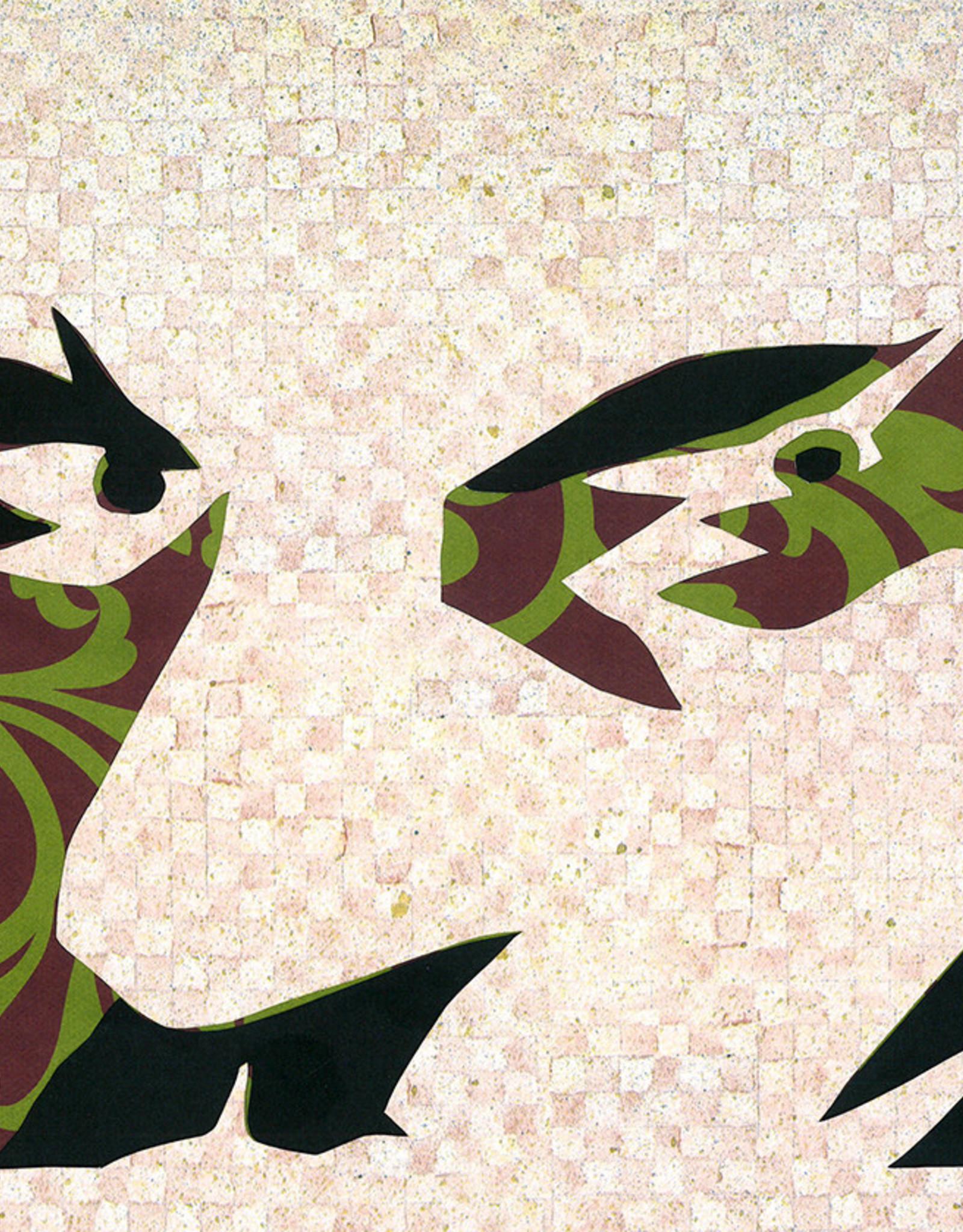 Gray Jones Face to Face -Cutout 9x12 #39