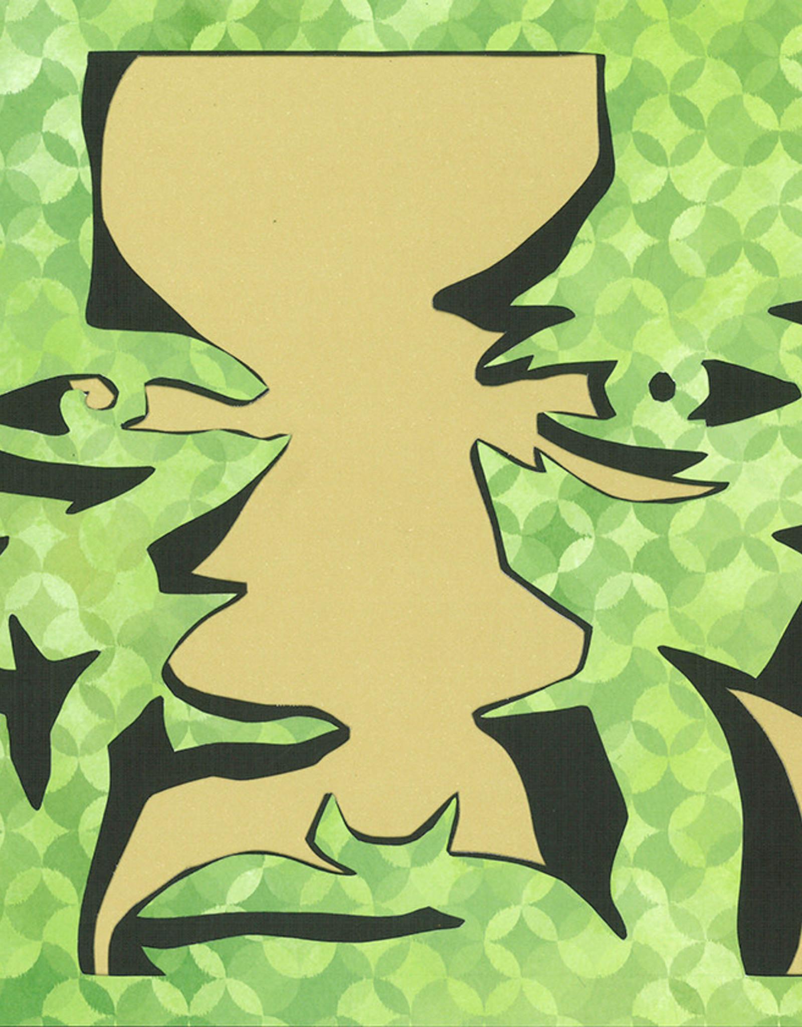 Gray Jones Face to Face -Cutout 9x12 #21