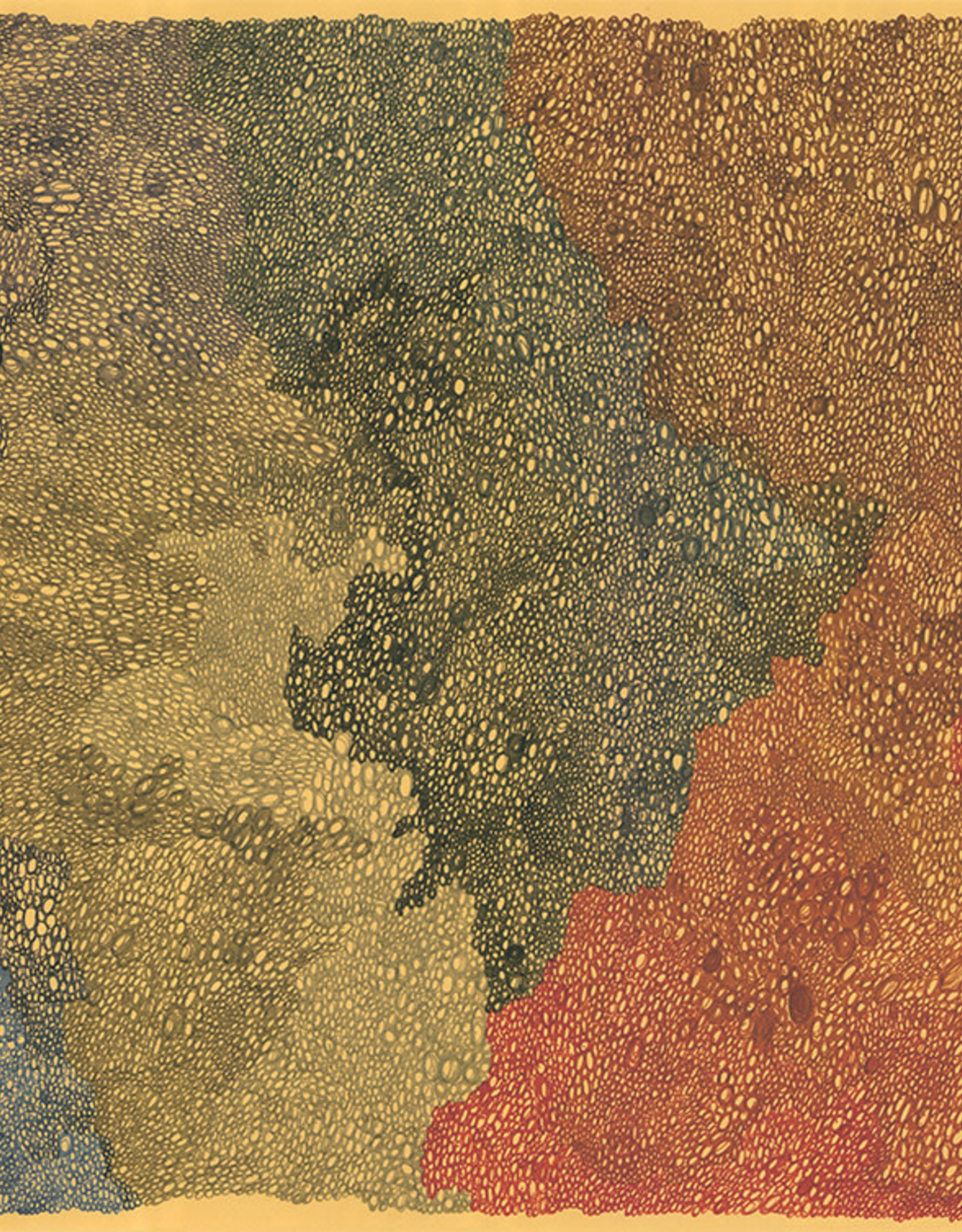 Gray Jones Print -11x14 Circles Tan