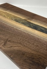 """Ron and Ellie Purvis MHC - """"My Precious"""" - Walnut Wood and Resin Serving Tray"""