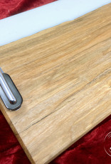 """Ron and Ellie Purvis MHC - """"Rydell High"""" - Spalted Maple Wood and Resin Serving Tray"""