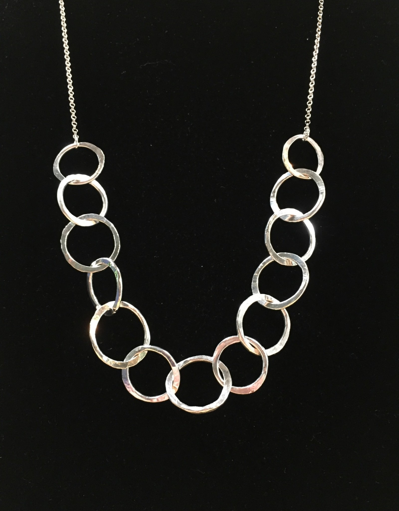 Susan Hunter Bodie/Fine Silver Hand-Fabricated Necklace