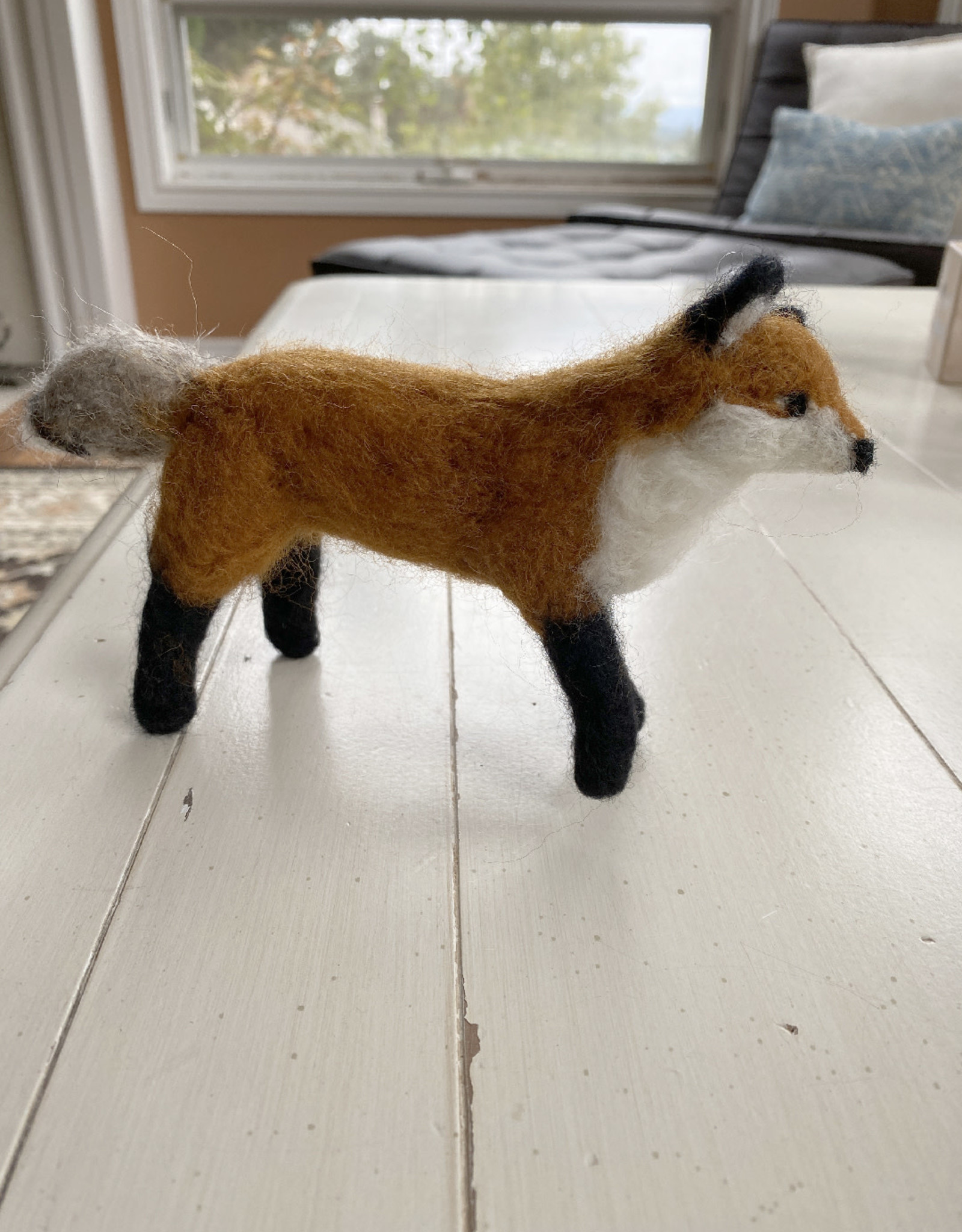 Jennifer Cook-Chrysos Chrysos Designs Artworks, Felted Fox