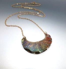 Anne Johnson AJE - Rueger Ruffle Pendant / Multicolor