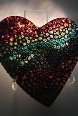 Carlyne Lynch Murrini Heart Dish w/Stand