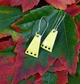 Anne Johnson AJE - Dangle Earrings -  Yellow