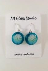 Ann Mackiernan Fused Glass Earrings Extra-Large - XL6