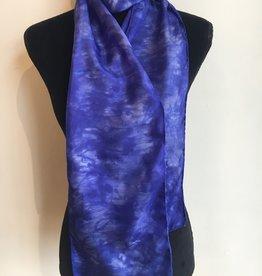 Ammi Brooks Silk Scarf/Blue