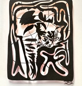 David Friedman Black Cat - FriedArt Papercutting