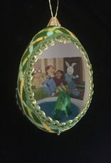 Ammi Brooks Arthur Real Egg Ornament