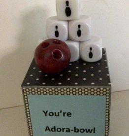 Karen Friedstrom Ador-a-bowl.                        Message block