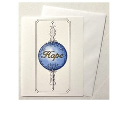 Kelly Casperson Hope Ornament notecard