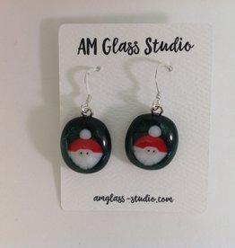 Ann Mackiernan Fused Glass Earrings - Extra Large - XL8