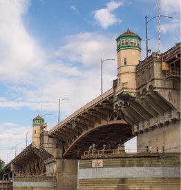 "Mark Clifford Burnside Bridge,  14""by 20"" matted print"