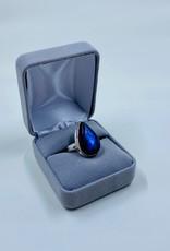 Raindrop Labradorite Ring ( size7)