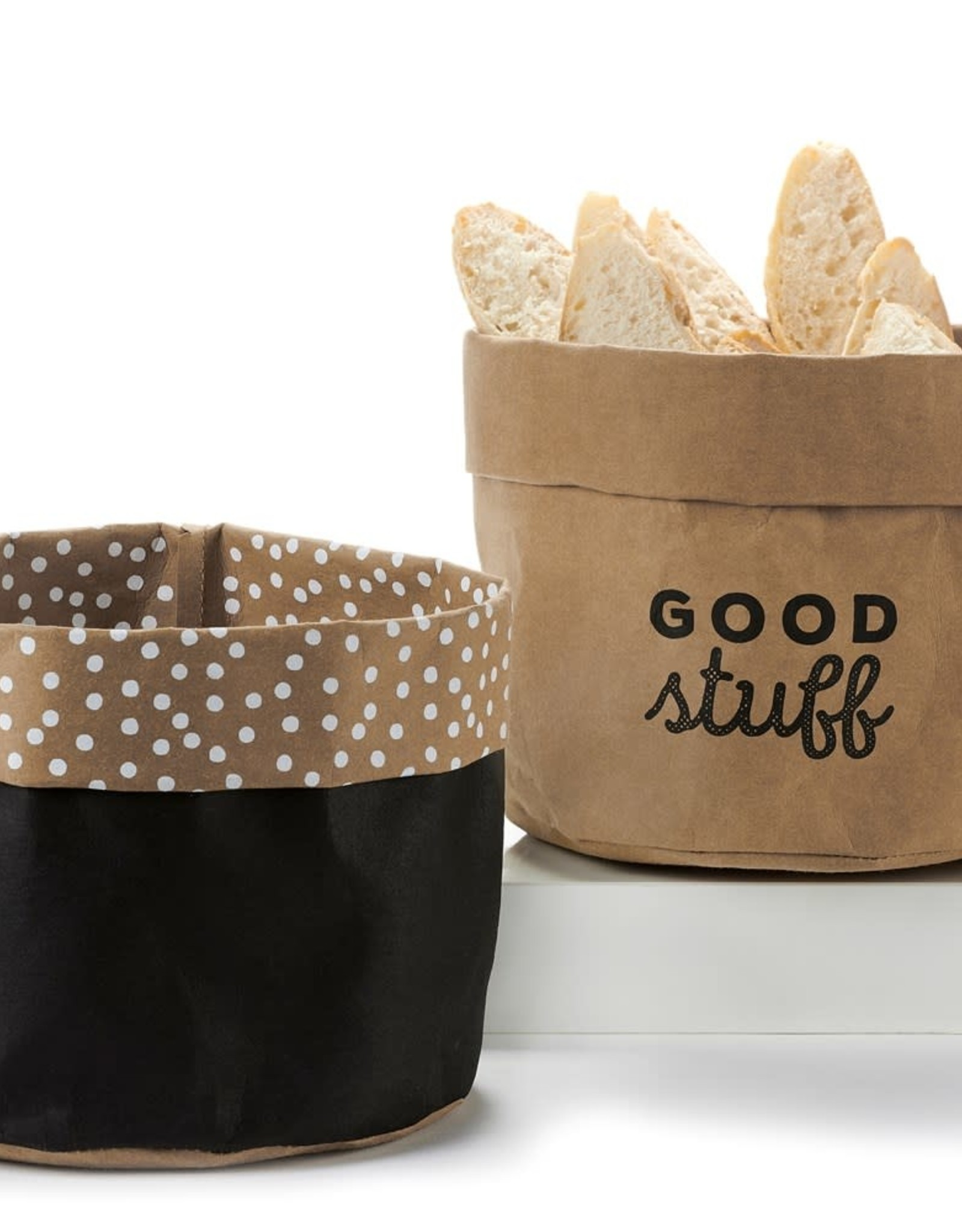 Kraft Paper Basket Lg