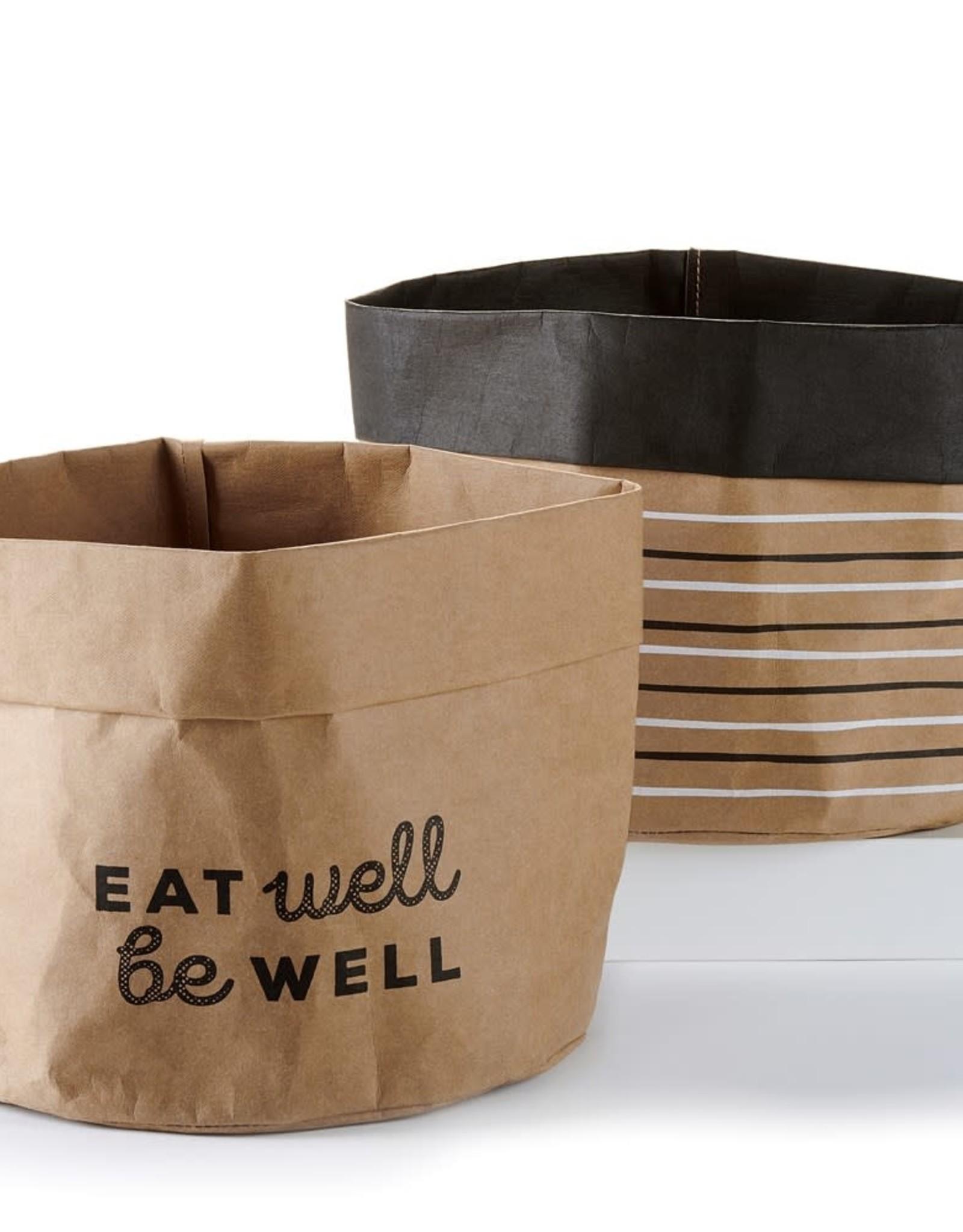 Kraft Paper Basket XLg