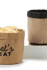 Kraft Paper Basket Sm