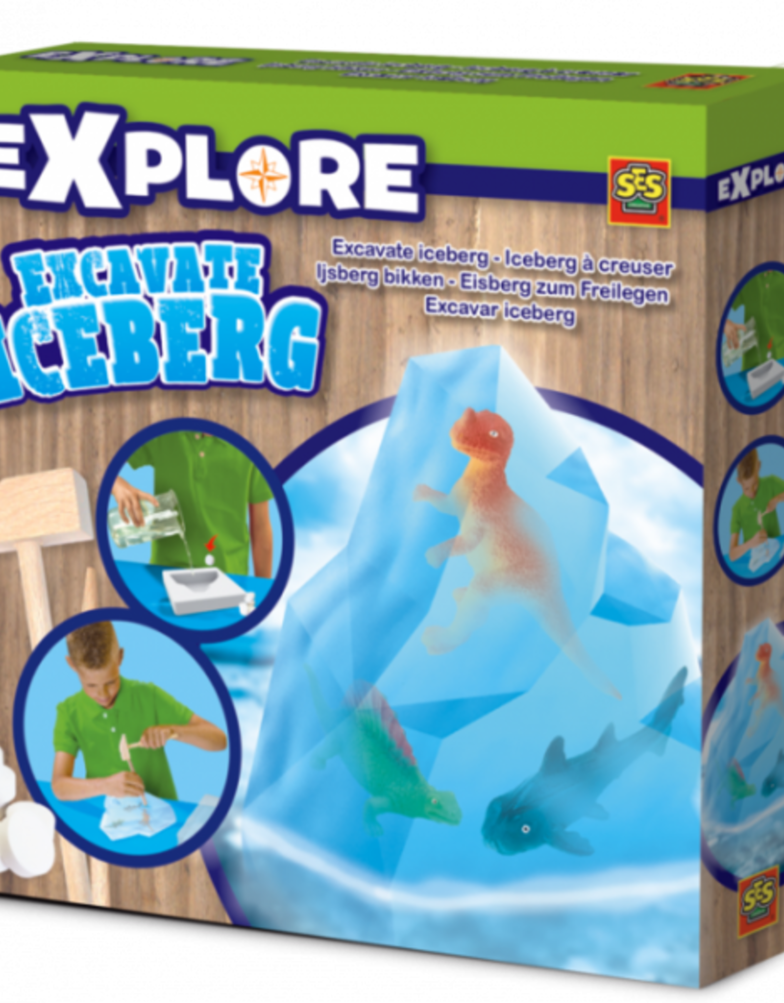 Excavate an Iceberg