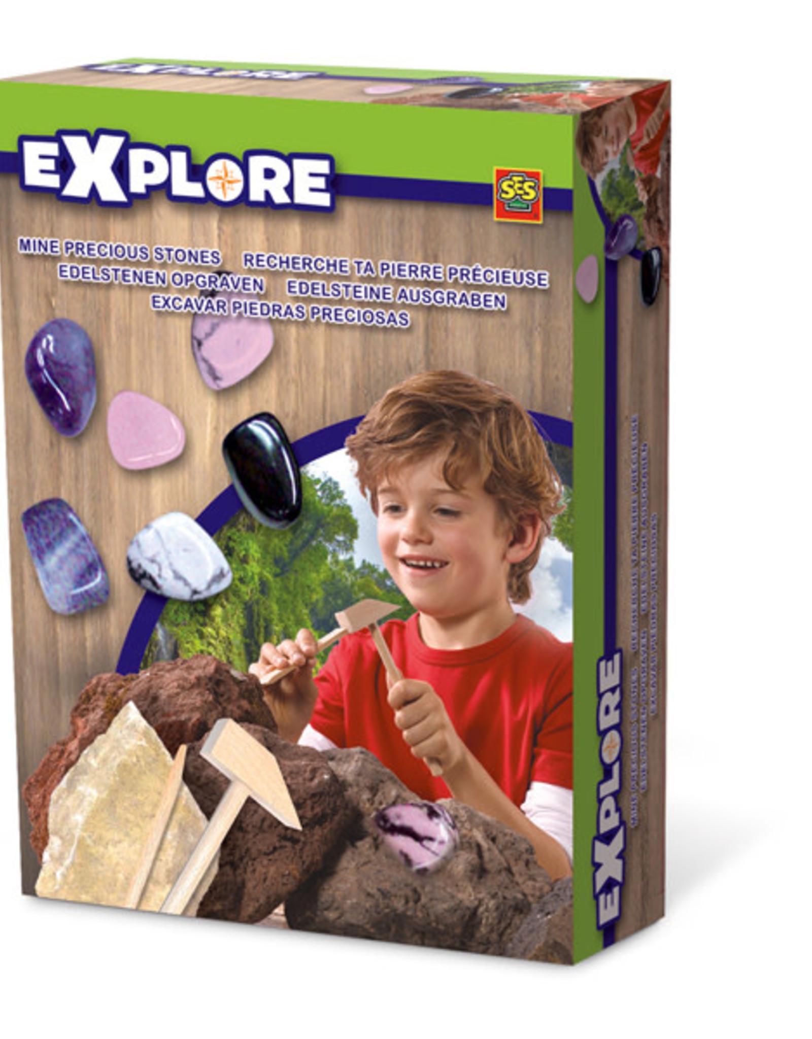 Explore Excavate Mini Stones